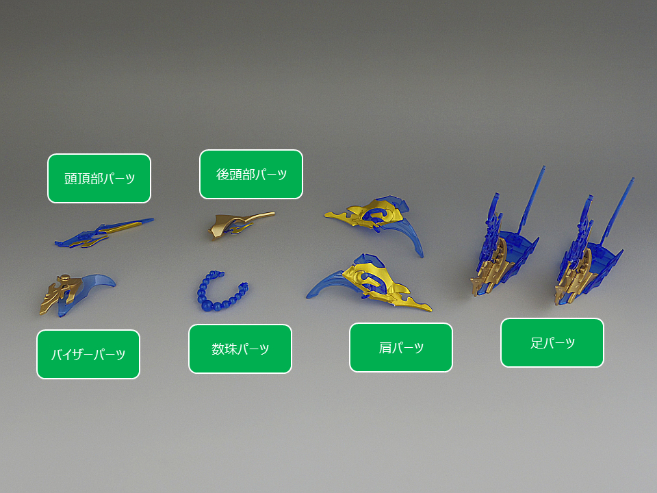1003_SDW HEROES 悟空インパルスガンダムDXセット