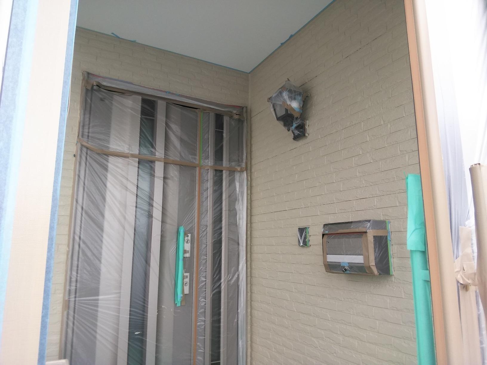 雁来M様邸 外壁 中塗3