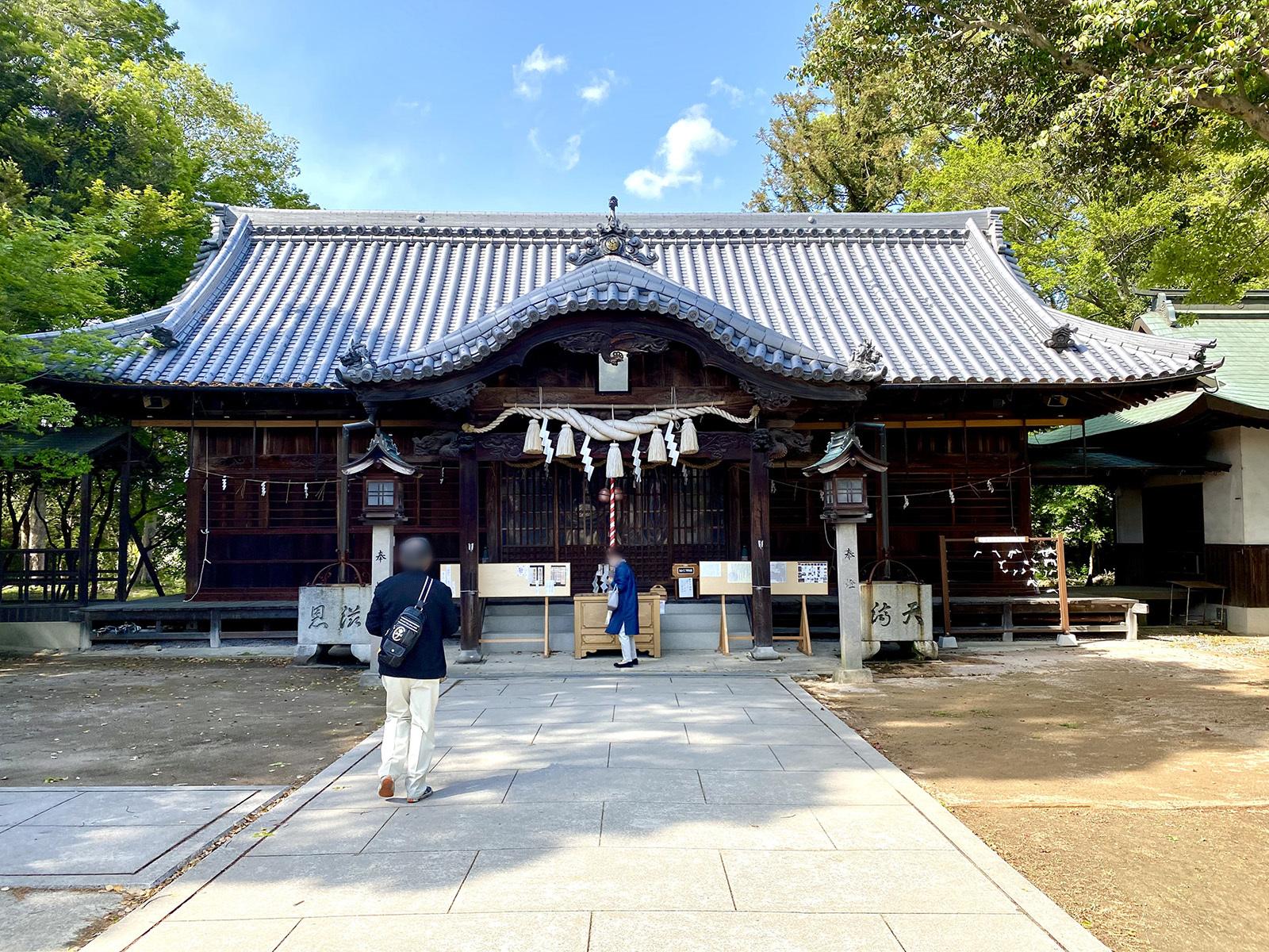 岩田神社 05 本堂