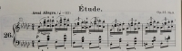 ショパン エチュード Op.25-9 冒頭