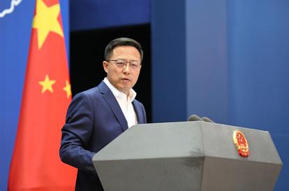 中国 趙立堅 外務省 TPP 台湾