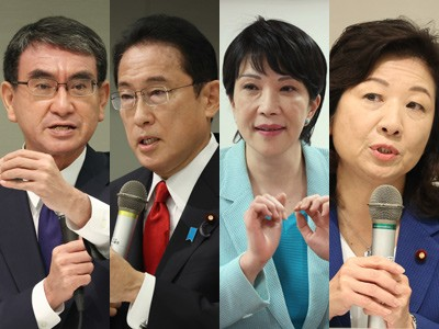 自民党 総裁選 安倍晋三 外交