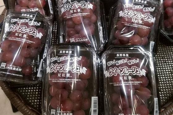 クイーンルージュ ぶどう 品種 シャインマスカット 韓国 農水省